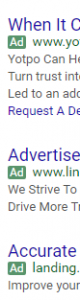 Adds on Google